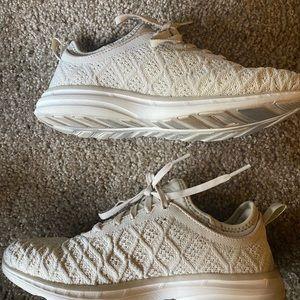 Beige APL sneakers size 7.5